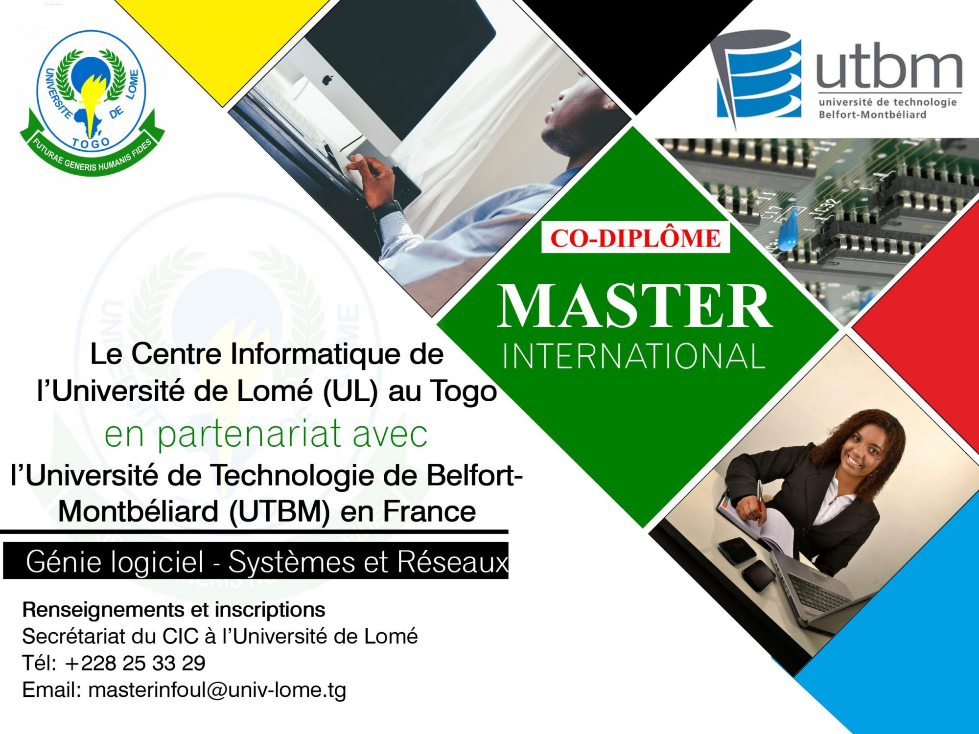master international en informatique utbm appel  u00e0